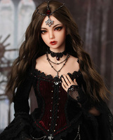 1/4 BJD Doll BJD/SD Fashion Fid Mari Doll With Glass Eyes For Baby Girl Birthday Christmas Gift Present
