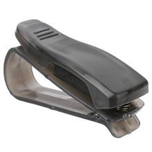 Clear Black Plastic Car Vehicle Sun Visor Sunglasses Holder Clip Auto Eye Glasses Pen Holder Ticket Receipt Card Clips Bracket недорго, оригинальная цена