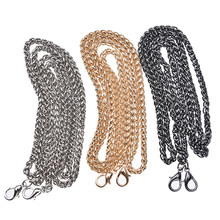 1PC 120CM Hight Quality DIY Strap Chain Bag Hardware Purse Chain Strap Bag Chain Handbag Replacement Bag(China)