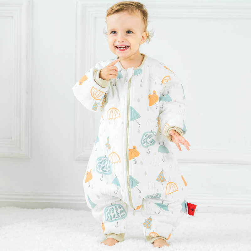 on sale 733a8 4c259 Baby Sleeping Bags For Winter Thick Cute Jumpsuit For ...