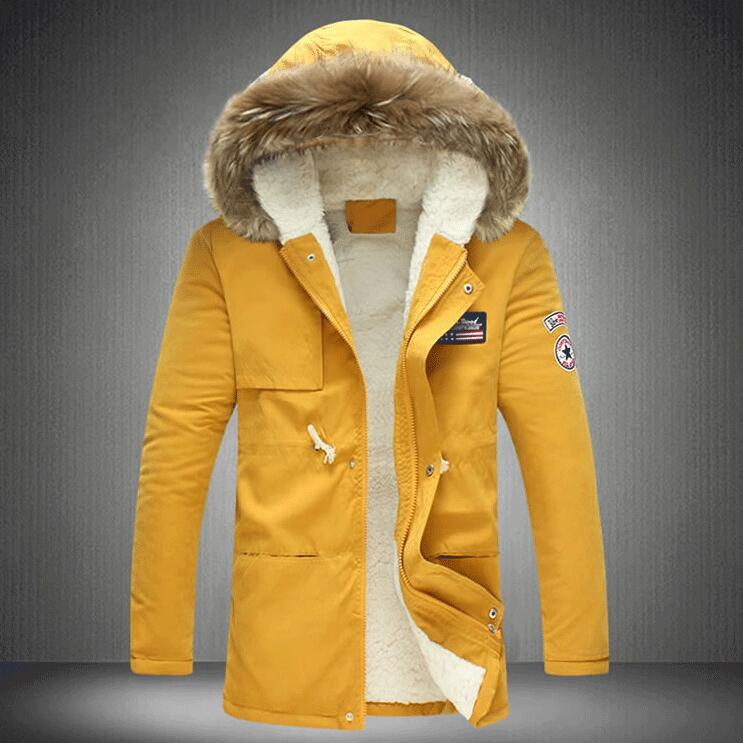 Plus size M-4XL 5XL Parkas New 2018 Winter Jacket With Fur Hoodies Causal Warm Clothing