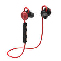 2017 New X9 Sports Bluetooth Earphones Wireless Metal Magnetic Suction Earbunds Stereo Sound gym Walking Running Earphone