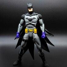"17cm/6.7"" Batman Action Figure Arkham City Dark Knight DC Original Toy Model PVC Decoration Gifts Free shipping"