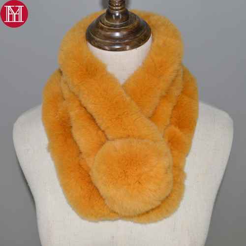 Real Rex Rabbit Fur Scarf...