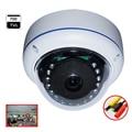 Aokwe Fish eye IR 180 degree Wide angle Lens vandal proof dome camera with SONY EFFIO-E 700TVL