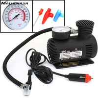 MALUOKASA 12V Mini Air Compressor For Car 300 PSI Inflatable Auto Pump Bomba De Air Bike
