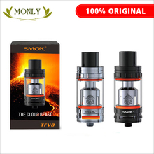 SMOK TFV8 Atomizer 6 0ml TFV8 Cloud Beast Tank With V8 T8 V8 Q4 Coil Head