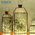 Romántica Luz de la Secuencia para el Día de San Valentín de La Batería Operado 3 M 30 led Mini LED Decorativa de Hadas de Cuerda de Alambre de Cobre luces de la lámpara