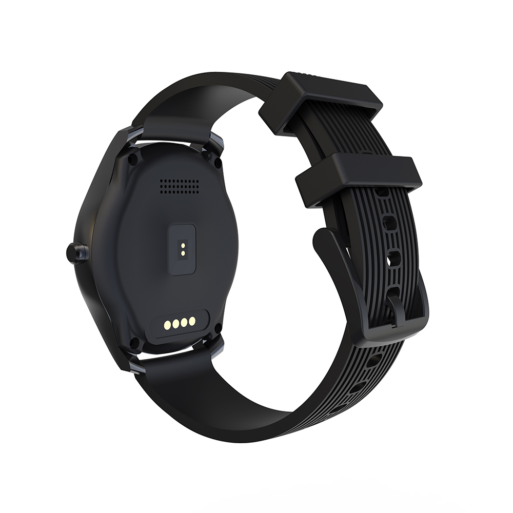 Ainuevo N1 Fashion Smart Watch Man 1.3 inch Whole-Circle IPS High-Definition LCD Heart Rate Monitor Blood Pressure