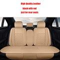 4 pcs tampas de assento do carro de Couro Para Kia soul cerato sportage sorento RIO optima K2K3K4K5 Ceed sorento acessórios do carro styling