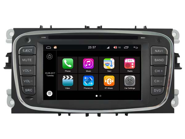 S190 Android 7 1 CAR DVD player FOR FORD FOCUS 2008 2009 2010 GALAXY 2011 2012