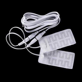 1 para elektryczne rękawice USB podgrzewacz do ogrzewania rękawiczek z włókna węglowego podgrzewane rękawiczki na USB do ogrzewania rękawiczek Pad new arrival tanie i dobre opinie Gmarty CN (pochodzenie) Carbon fiber heated cloth