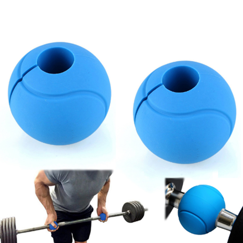 Pair silicone dumbbell home bodybuilding gym accessories weight