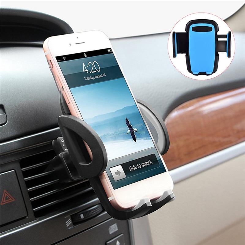 Prise ventilée Support de téléphone monté sur Voiture Support universel téléphone Voiture Smartphones Support pour téléphone pour iPhone Samsung
