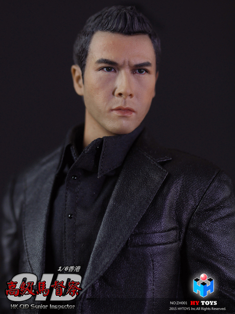US $135 99 |HY TOYS ZH001 HK CID Senior Inspector Donnie Yen Sir Double  Head Sculpt Version Collcection Action Figure for Fans Holiday Gift-in  Action