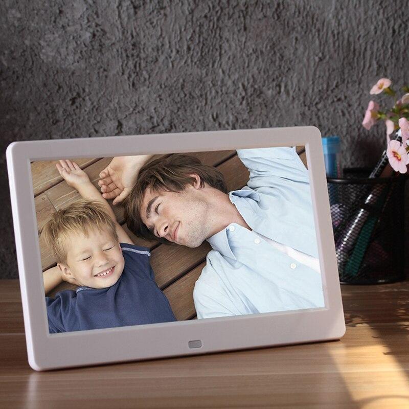 10 digital photo frame hd full view porta retrato. Black Bedroom Furniture Sets. Home Design Ideas