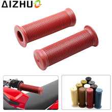 UNIVERSAL 7/8 22mm motorcycle Handle Grips motor scooter 10 color Non-Slip PVC Rubber handlebar grips for motorbike sportbike