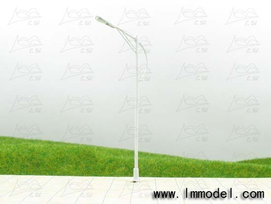 model lamp, T61 lamppost for train layout HO scale,model building lamp, scale lamp, lamp