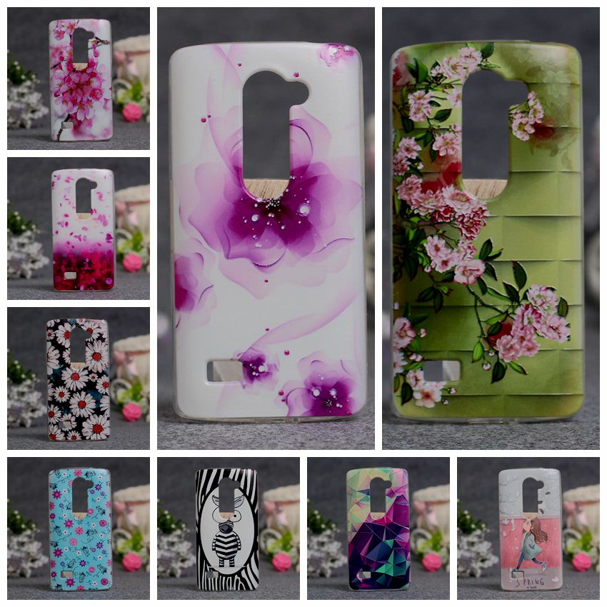 New Luxury Soft TPU 3D Painted Case For LGs