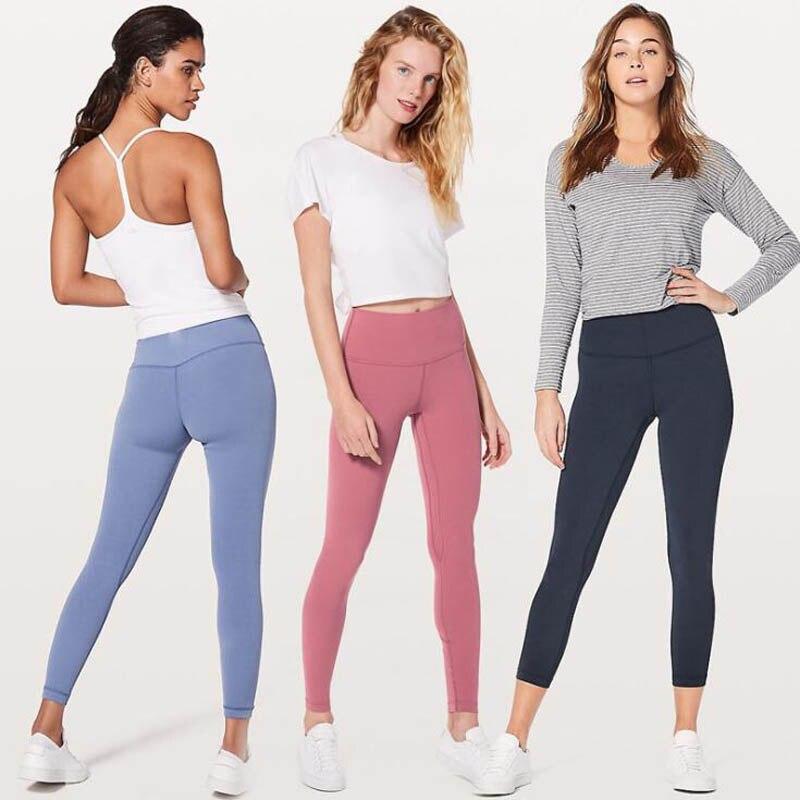 ★  11 Цветов Super Soft Hip Up Yoga Фитнес Брюки Женщины 4-полосные Эластичные Спортивные Колготки Анти ★
