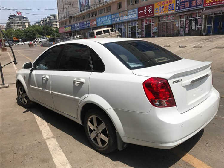 สำหรับ Chevrolet Optra สปอยเลอร์ 2003-2007 Optra สปอยเลอร์ ABS คุณภาพสูงวัสดุด้านหลัง Primer สีสปอยเลอร์ด้านหลัง