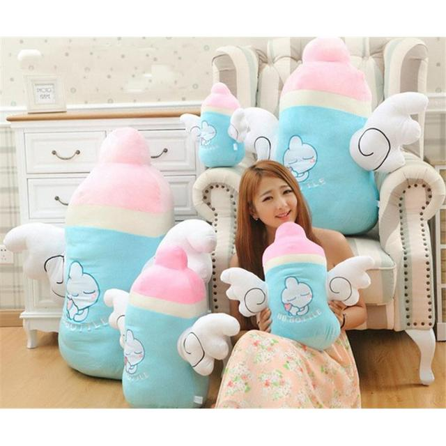 2016 Special Offer Limited Unisex For Baymax Cute Angel Bottle Shape Bed Sofa Chair Throw Cushion Lumbar Pillow Toys