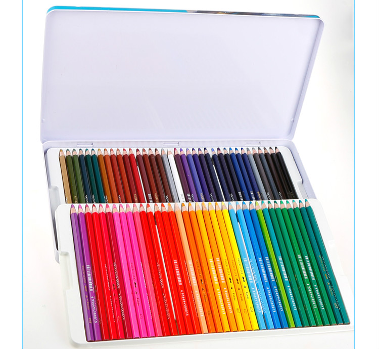 72colors/set Colorful Pencil Long Crayon Drawing Painting Pencil Box Set Colour pencils Students Stationery School Stationery