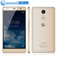 Original Gooweel M17 4G Mobile Phone Fingerprint ID MTK6737 Quad Core 64bit 5 5inch IPS Android