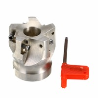 1pc BAP400R 50 22 5F Indexable Face Mill 50mm CNC Milling Cutter with T15 Wrench For APKT 1604 Insert