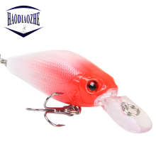 Купить с кэшбэком Lifelike VIB Floating Fishing Lure 7CM 8G Pesca Hooks Carp Fishing Wobblers Crankbait Artificial Japan Hard Bait Pesca Tackle