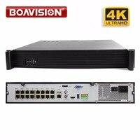 36ch ONVIF Super HD 4 К NVR DVR H.265 видео Регистраторы для 4 К/5mp/4mp/2mp IP Камера с 16ch POE 48 В видеонаблюдения Системы