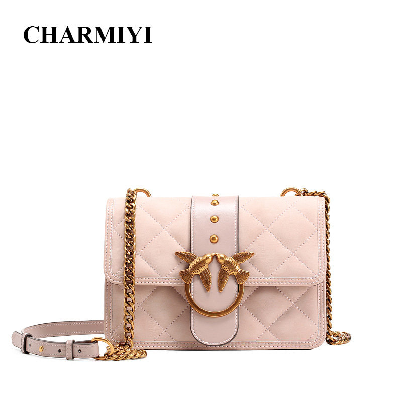 CHARMIYI 2018 Luxury Handbags Women Crossbody Chain Bags Designer Messenger Bags Ladies Small Shoulder Bag Clutch Fashion Lock glitter sequins women pu chain handbags messenger crossbody bags party shoulder sling bags fashion girls shinning clutch bags