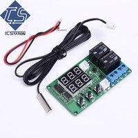 5V Dual Channel Relay Module Red Digital Display Thermometer Temperature Control Board Sensor Module
