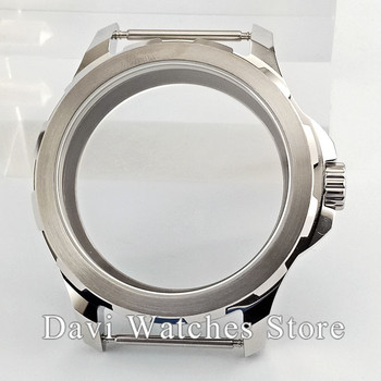 Hot Selling 44mm Parnis Sapphire Glass Watch Case for ST3600 3620 Movement