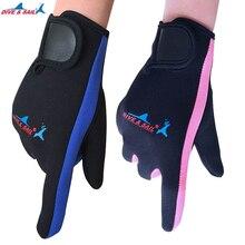 Neoprene swimming diving gloves with velcro