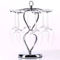 Wine Rack Hanging Wine Glass Holder Stemware Rack Stainless Steel Accessories Wine Glass Cup Holder Racks