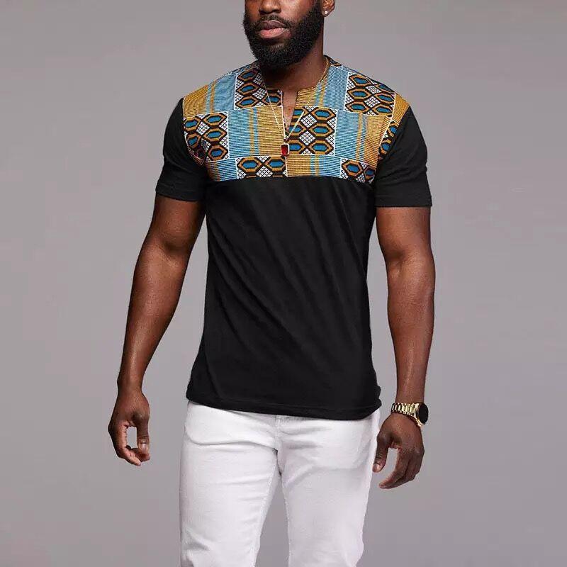Afrique vêtements t-shirts hommes mode dashiki robe africaine robes africaines vêtements 3d t-shirt homme, taille asiatique