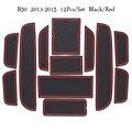 Автомобильные двери Groove коврики для 2013 2014 2015 Besturn B50 Противоскользящий коврик для ворот Слот Pad аксессуары для интерьера