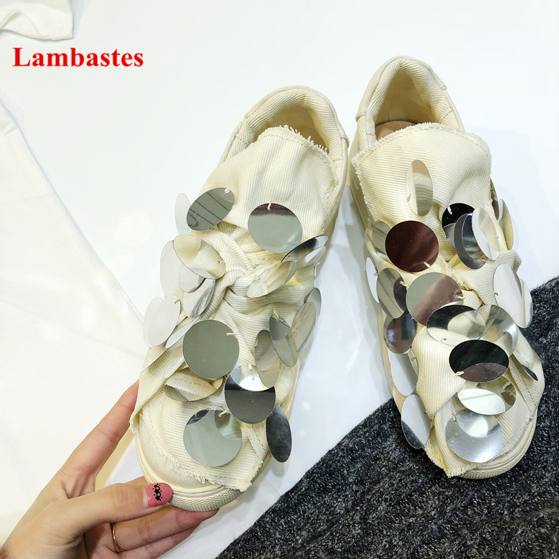 Butterfly-knot Bling Round Toe Denim Women Casual Shoes Spring 2018 Slip On Loafers Solid Comfortable Flats Zapatos Mujer cootelili 36 40 plus size spring casual flats women shoes solid slip on ladies loafers butterfly knot pointed toe soft shoes