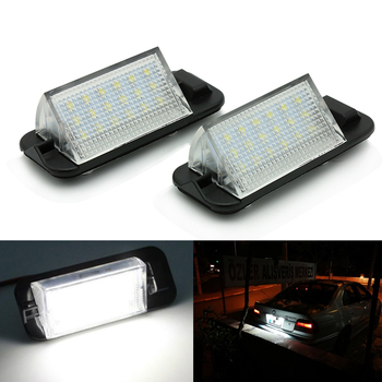 2pcs high power SMD LED Wireless license plate light lamp xenon HID light For B MW E36 (92-99) 92-99 B MW 3 Series image