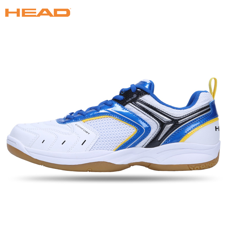 HEAD Men Badminton Shoes Professional Sneakers For Women Breathable Sport Shoes Unisex Table Tennis Badminton Shoes Size 35-44 professional kumpoo unisex shoes badminton light cushioning comfortable sports sneakers for men and women breathable kh 205 l799