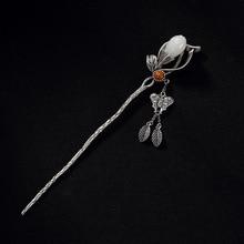 Magnolia Flower Hair Pin