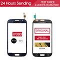 Оригинал Испытания 5.0 дюймов Сенсорный Экран Для Samsung Galaxy Grand Duos i9080 i9082 Touch Экран со Стеклом Панели Клей
