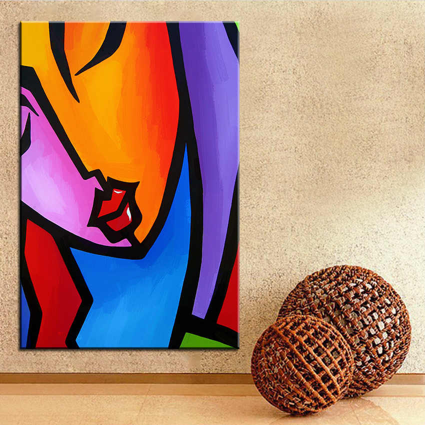Large size Printing Oil Painting precision Wall painting POP Art Wall Art Picture For Living Room painting No Frame