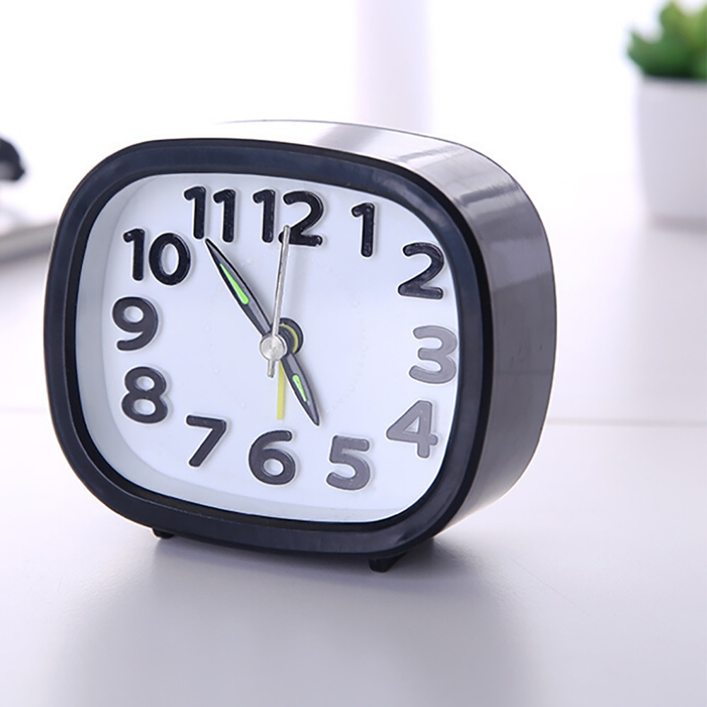Compact Travel Quartz Beep Alarm Clock