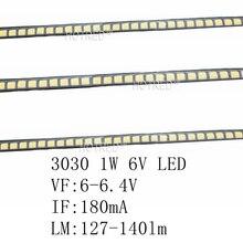 100 шт Nation Star 3030 светодиодный светильник с бусинами 1 Вт lcd tv подсветка холодный белый 140lm 180mA для ТВ диода 3,0*3,0 мм Высокое качество