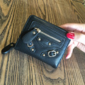 Aolen womens wallet 2017 famous brand designer purse luxury zipper leather messenger bags wallets large short 2016 women ladies