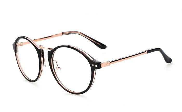 Eyeglass frame design facial fit are