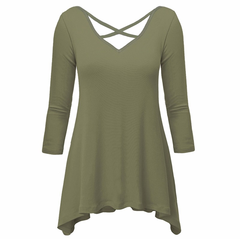 Green T-shirt Women 1
