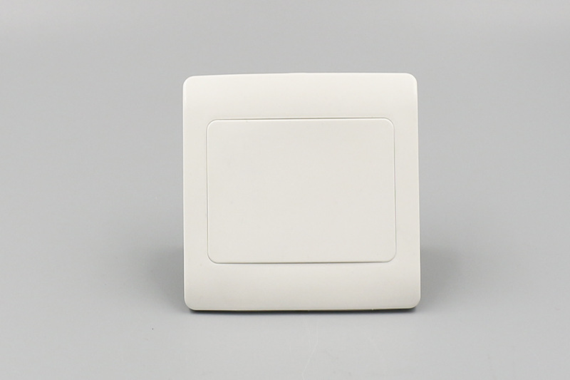 10pcs Type 86 Blank Panel Wall Switch Socket Blank Cover Panel White ABS Outlet Cover Plate